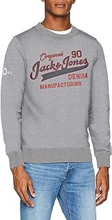 JACK & JONES Jorlogan Men's Sweatshirt Crew Neck
