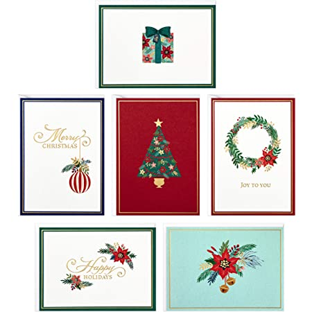 Assorted Christmas Greeting Cards Boxed 32 ct ea