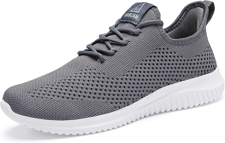 YDB Men's Running Shoes half discount Ultra Walking Sho Lightweight Breathable