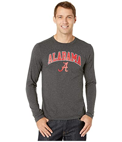 Champion College Alabama Crimson Tide Field Day Long Sleeve Tee (Black) Men