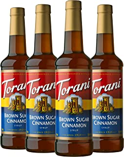 Torani Syrup, Brown Sugar Cinnamon, 25.4 Ounces (Pack of 4)