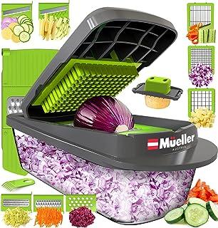 Mueller Austria Pro-Series 8 Blade Egg Slicer, Onion Mincer Chopper, Slicer, Vegetable Chopper, Cutter, Dicer, Vegetable S...