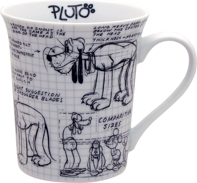 Disney Sketchbook Pluto Mug of New Shipping Free Miami Mall 4 Set