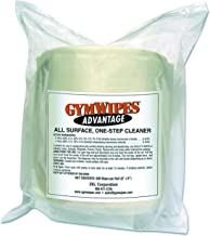 2XL L36 7 x 8 White Rainforest Scent Gym Wipes Roll of 900 (Case of 4)