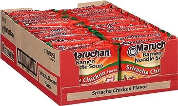 Maruchan Ramen Sriracha Chicken, 3.0 Oz, Pack of 24