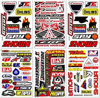 Best dirt bike stickers honda Reviews