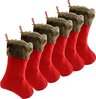 Best faux fur stocking with velvet cuff Reviews