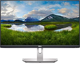 "DELL S2421H 24"""" Full HD IPS Ultra-Thin Bezel Monitor, Platinum Silver"