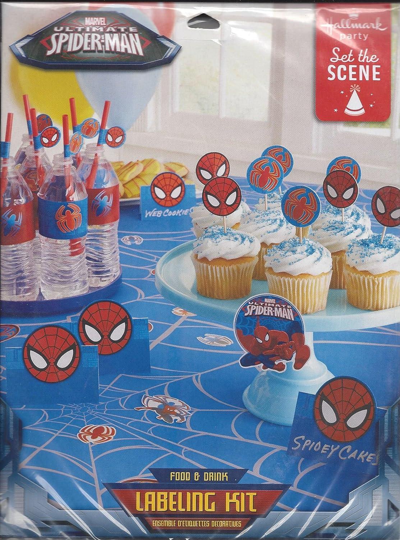 Marvel Ultimate Spider-Man Food & Drink Labeling Kit by Disney