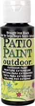 DecoArt, Wrought Iron Black Patio Paint, 2-Ounce, 2 Fl Oz