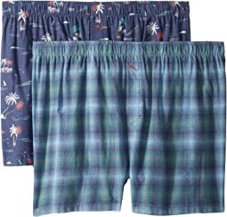 2-Pack Flannel Boxer Set