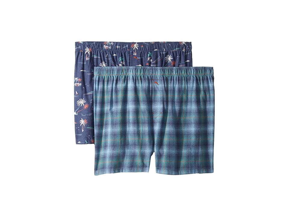 Tommy Bahama - Tommy Bahama 2-Pack Flannel Boxer Set