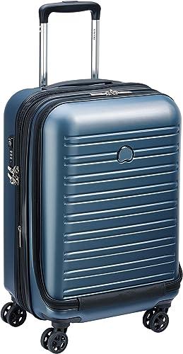 Delsey Paris SEGUR 2.0 Bagage cabine, 55 cm, 42,9 liters, Bleu (Blau)
