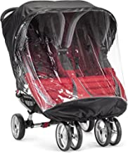 Baby Jogger City Mini Double Rain Canopy - PVC Free (Discontinued by Manufacturer)