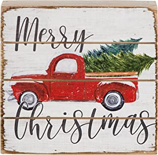 rustic christmas pallet signs