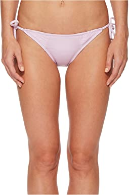 THE BIKINI LAB Rib-Thym Nation String Tie Side Bikini Bottom