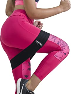 SimplyPuer Super Strong Booty Band Durable Thick Breathable Fabric Nonslip No Rolling - Women's Workout Butt & Hip Exercise Resistance Band