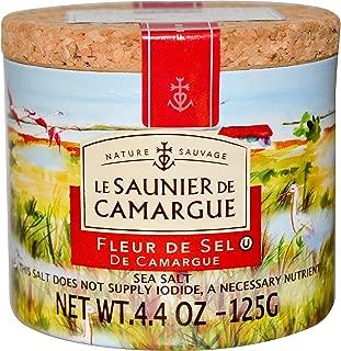 Le Saunier de Camargue, Fleur de Sel, Sea Salt, 4.4 oz (125 g) - 2pcs