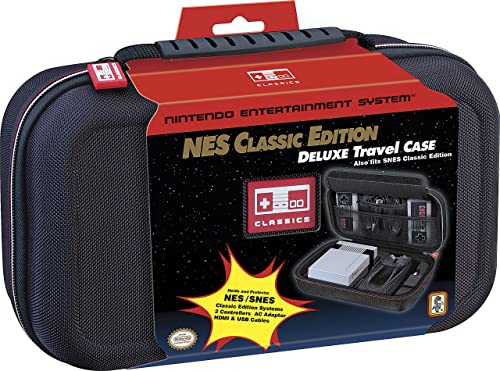 Nintendo NES Classic Edition Deluxe Travel Case (CL3021) Black
