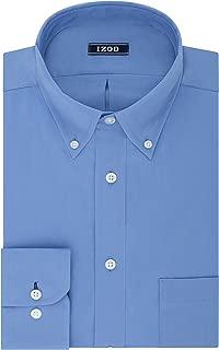 Izod Men's Dress Shirt Regular Fit Stretch Solid