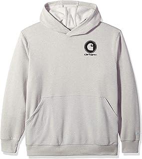 Carhartt Men's Force Delmont Graphic Hooded Sweatshirt...