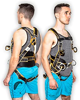 Kiting Harness | Kitesurfing Harness | Kite Surfing Kite Harness | Kitesurfing Equipment | Power Kite Pilot Wings | Paraglider Wing | Kite Surfing Training Kite harnesses For Ground Handling