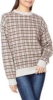 [チャンピオン] クルーネックスウェットシャツ ワンポイントロゴ WOMEN'S CW-U010 レディース