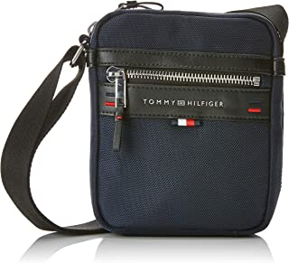 Tommy Hilfiger Men's Elevated Mini Reporter Elevated Mini Reporter, Tommy Navy, One Size