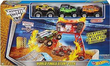 Hot Wheels Monster Jam World Finals Stunt Pack Play Set