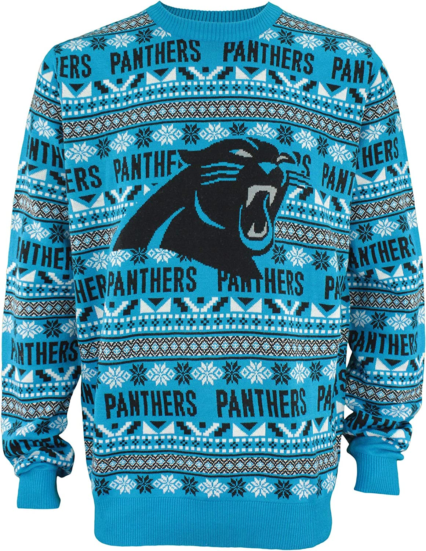 FOCO NFL Mens 2016 Aztec Print Ugly Crew Neck Sweater, Various T