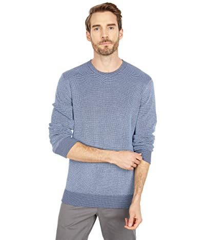 Southern Tide Bailer Crew Neck Sweater (True Navy) Men