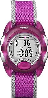 Timex Kids' T7B9809J IronKids Translucent Pink Resin...