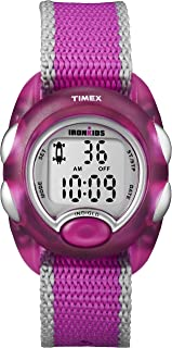 Kids' T7B9809J IronKids Translucent Pink Resin Strap Watch