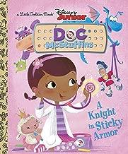A Knight in Sticky Armor (Disney Junior: Doc McStuffins) (Little Golden Book)