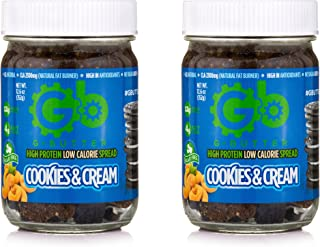G Butter High Protein Low Calorie Spread - Cookies and Cream (2 Pack)