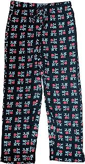 I Love NY New York Lounge Pants Heart Pajama Bottoms Black (Small)
