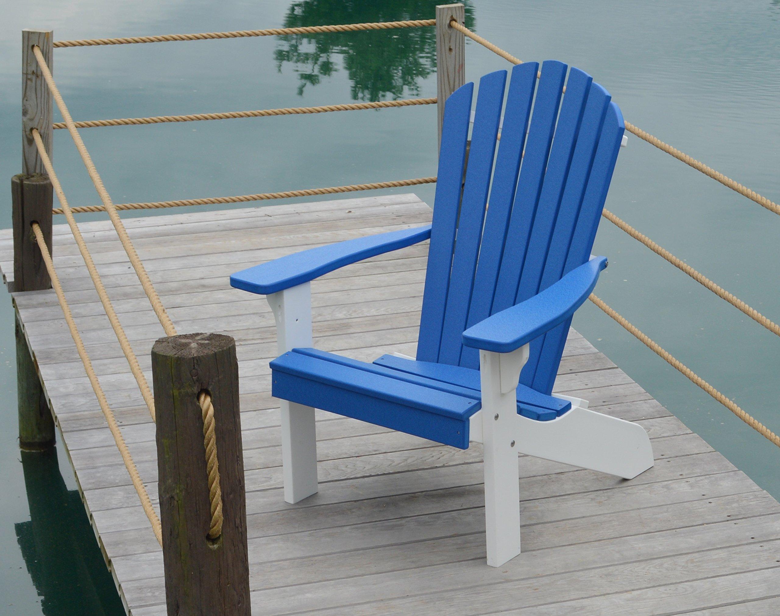 Silla de polietileno; sillas de madera reciclada, asiento de ...