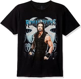 WWE Big Boys' Roman Reigns One Versus Al Youth Short-Sleeved Tee Tearaway Label