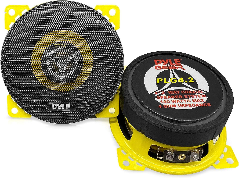 Car Two Los Angeles Mall Way Speaker System - Pro Factory outlet Inch 4 140 Tweet Watt Ohm Mid