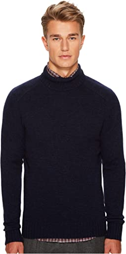 Melange Turtleneck
