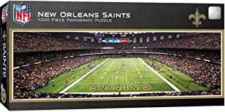 MasterPieces NFL New Orleans Saints Stadium Panoramic Jigsaw Puzzle, 1000 Pieces