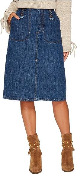 See by Chloe - Siganture Denim Skirt