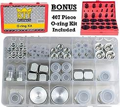 Kit King USA 64pcs JIC Caps Plugs 37 Deg Flare and SAE 407pcs Oring Kit