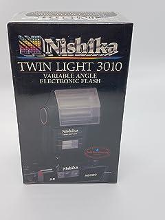 Nishika 3010 3D Stereo Camera Twin Light Flash