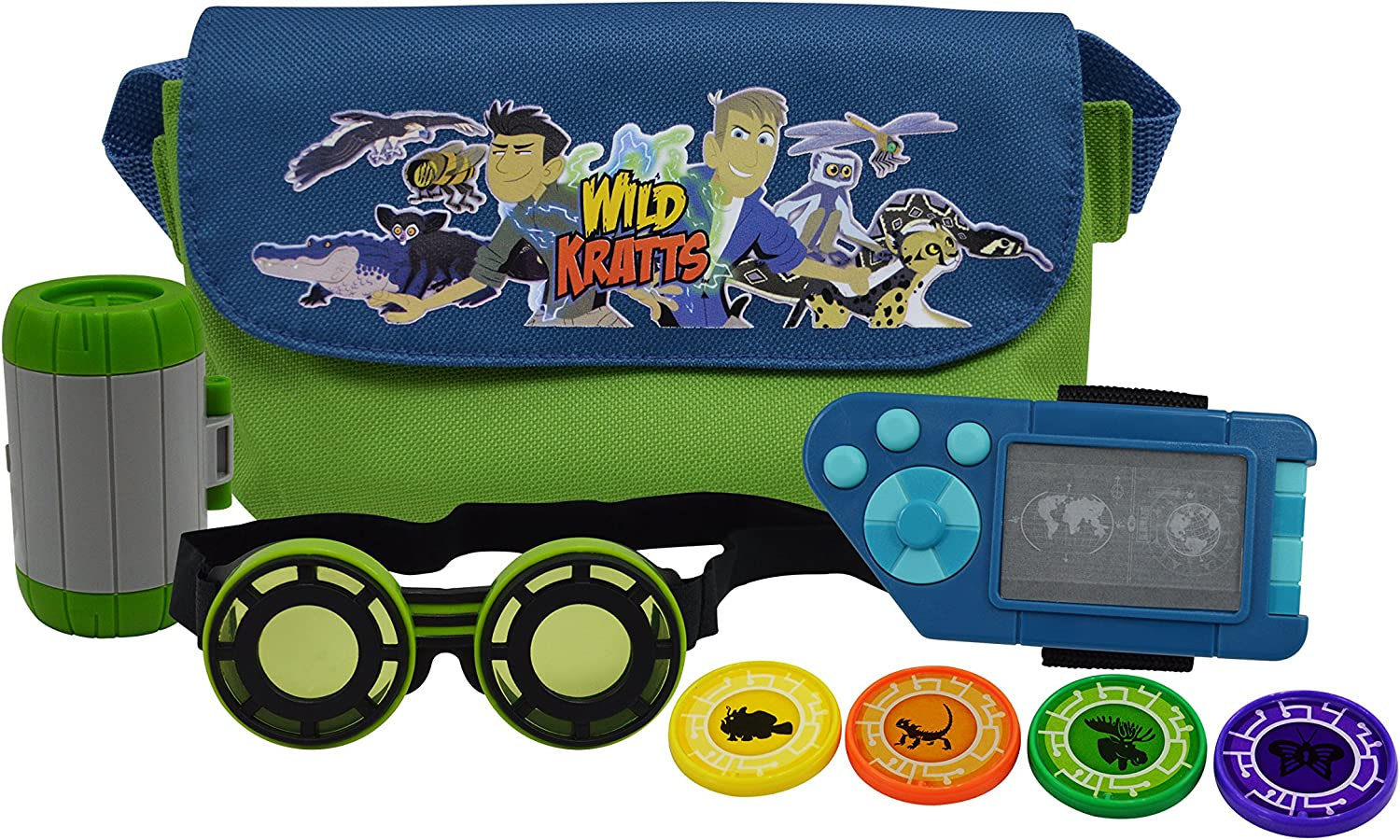 Wild Kratts Adventure Set with Goggles and Power Discs