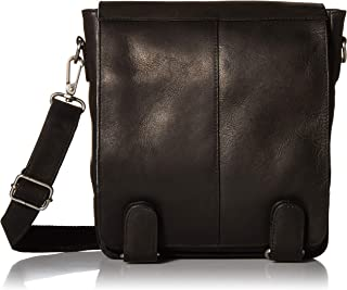 Piel Leather Double Loop Tablet Carry-all, Black
