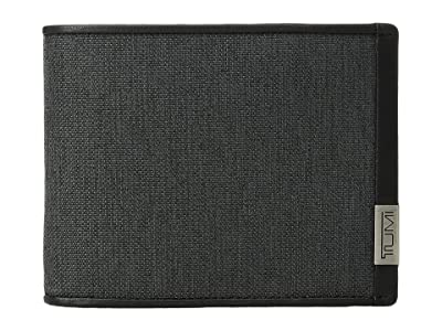 Tumi Alpha Global Double Billfold (Anthracite/Black) Bill-fold Wallet
