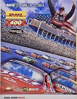 2004 - NASCAR/Michigan International Speedway - DHL 400 Official Souvenir Program - MIS - Nextel Cup Series - Rare - Collectible