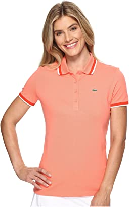 Lacoste - SPORT Piped Stretch Petit Piqué Golf Polo Shirt