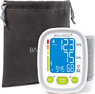 Wrist Blood Pressure Monitor Cuff from GreaterGoods, (2018 Update), Track Data